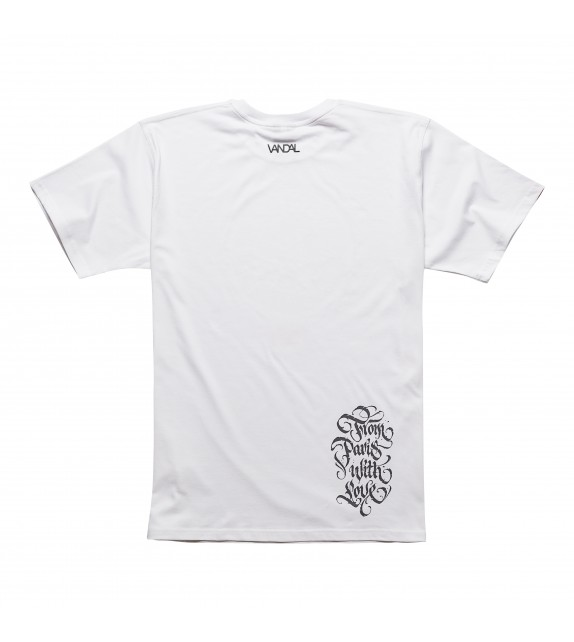 FROM PARIS WITH LOVE - TEE - WHITE